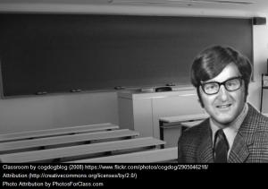 1970s Blackboard